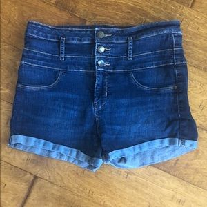 Size 10: Refuge High Waisted Denim Shorts